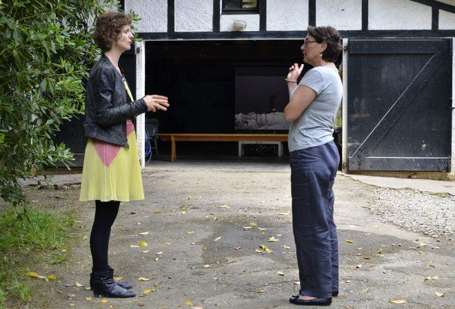 Julie Chaffort, artiste en résidence à LPE, parle de son travail.