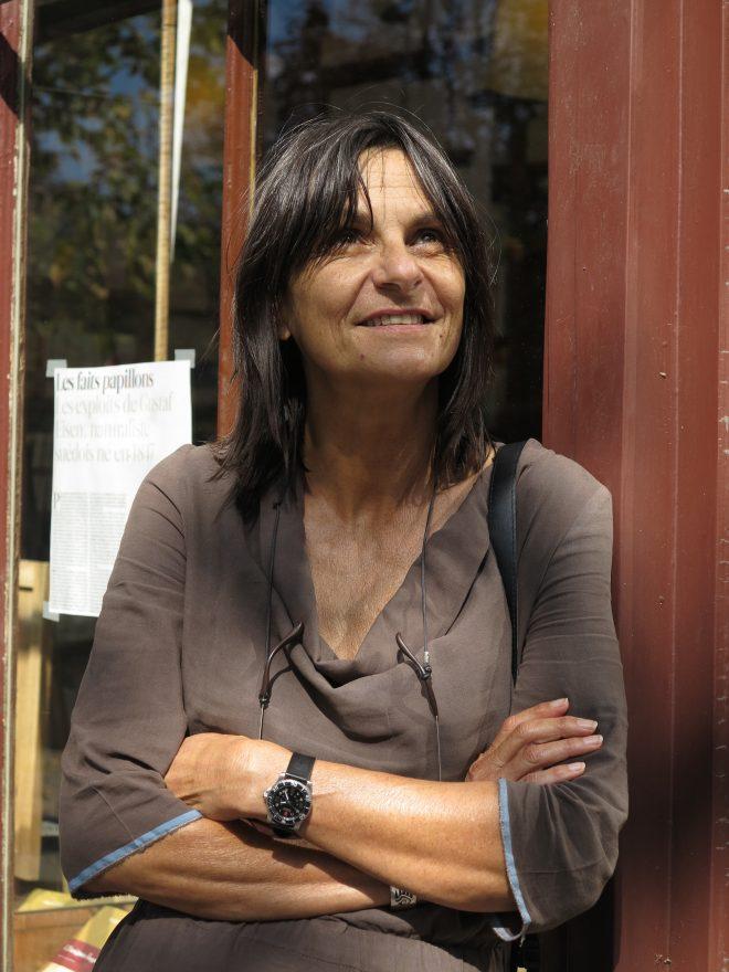 Fabienne Raphoz. Portrait © Ianna Andréadis.